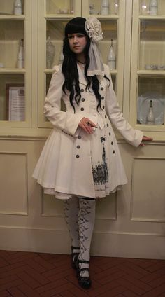 White clothing looks stunning with black hair