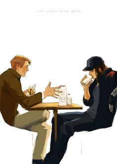 If Steve offers milk, Bucky'll probably show up.