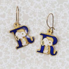 Wear it proud! Make a statement with you favorite initial with Snoopy Monogram collectibles, available in our Peanuts shop at CollectPeanuts.com.