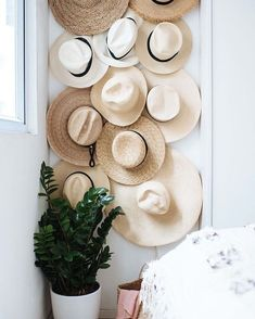 Home Decor For Small Spaces DIY hat hanging from A Pair & A Spare. 9 Clever Ideas for Organization & Storage in Small Spaces. Decor For Small Spaces DIY hat hanging from A Pair & A Spare. 9 Clever Ideas for Organization & Storage in Small Spaces.