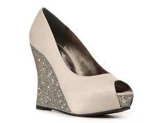 Nina Mahala Wedge Pump Wedding Shop Women's Shoes - DSW $69.95