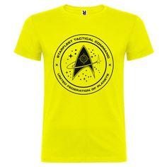 Camiseta Star Trek Starfleet Comando Tactico de SportShirtFactory en Etsy