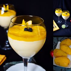 Lea's Cooking: Mango Mousse Recipe (about 2 cups) ripe mangoes 1 cup heavy whipping cream can sweetened condensed milk 1 tbsp lime juice Sweets Recipes, Fun Desserts, Delicious Desserts, Yummy Food, Smoothies, Mango Mousse, Kids Cooking Recipes, Cooking 101, Mango Cheesecake