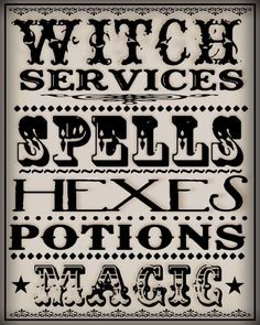 Witches Spells   Witch spells