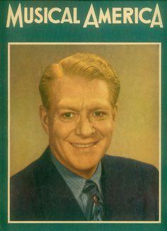 "Nelson Eddy ""Musical America"" cover 1950"