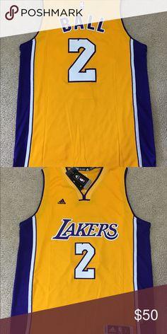 6bfb32c70 New Lakers Lonzo Ball Mens Large Brand new with tags Mens Large NO TRADES! Adidas  Shirts Tank Tops