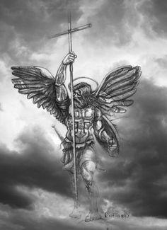 Resultado de imagem para tattoo designs of st. michael