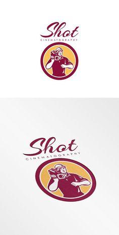 Shot Cinematography Logo by patrimonio on @creativemarket