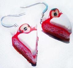 Polymer clay earings