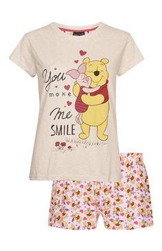 Pyjama short Winnie l'ourson