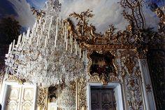 Linderhof (King Ludwig II's bedchamber - chandelier)