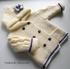 VK is the largest European social network with more than 100 million active users. Knit Or Crochet, Crochet For Kids, Crochet Baby, Knitted Baby Cardigan, Baby Pullover, Knitted Coat, Knitting For Kids, Baby Knitting, Lace Knitting Patterns