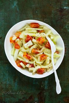 Salade de fenouil et d'oranges comme en Italie