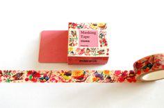 """Masking Tape - Design Washi Tape """"Vögel"""" - ein Designerstück von ApfelZimtMuffin-Shop bei DaWanda"""