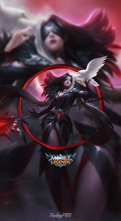 Wallpaper Phone Fasha Wings of Vengeance by FachriFHR on DeviantArt Mlb Wallpaper, Mobile Legend Wallpaper, Bang Bang, Dragon Mobile, Hero Fighter, Free Hd Movies Online, Akali League Of Legends, Moba Legends, Android Mobile Games