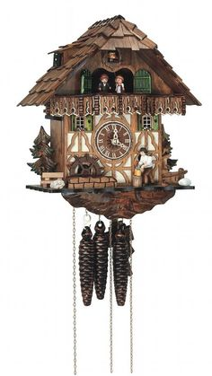 Cuckoo Clocks - I have one a lot like this that I love!