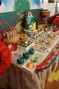Wizard of Oz Baby Shower Party Ideas | Photo 23 of 36 | Catch My Party