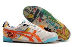 Asics Onitsuka Tiger Tokidoki Mex Lo Shoes White Gold Orange