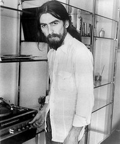 George Harrison. i love how serious he was about everything and how he thought…