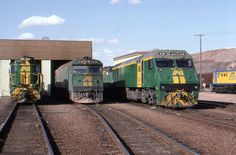 Broken Hill 3 generations of trains South Australia, Western Australia, Standard Gauge, N Scale, Diesel Locomotive, Tasmania, Trains, Transportation, Commonwealth