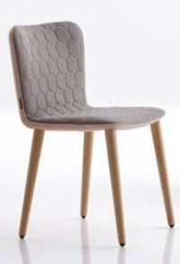 Tea SC Side Chair from Satelliet UK - Contract and Hospitality Furniture