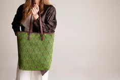 Everyday glam Tote shoulder purse medium summer by vquadroitaly, €120.00