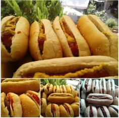 Hot Dog Buns, Hot Dogs, Denim And Diamonds, Hamburger, Sandwiches, Cooking Recipes, Bread, Ethnic Recipes, Entrance Halls