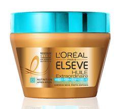 Soin nutritif pour cheveux pour l'été : Elsève Huile Extraordinaire Pommade baume après-soleil L'Oréal Paris