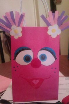 Abby Cadabby Party Bags by LadyandSonsPartyBags on Etsy