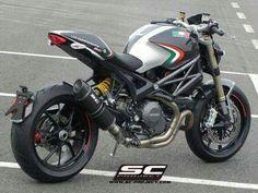 Ducati Monster SC Projekt