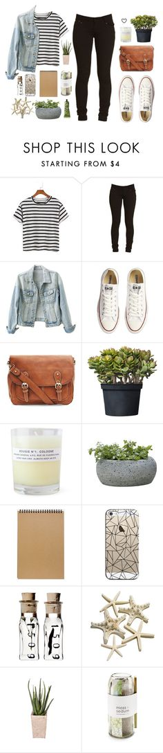 """""""♡ autumn breeze"""" by dr0ps-of-jup1ter ❤ liked on Polyvore featuring Converse, A.P.C., Campania International, Muji, Casetify, PLANT, Potting Shed Creations and Aesop"""