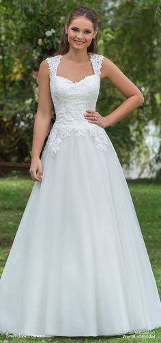 Sweetheart Gowns Fall 2016 beaded lace gown