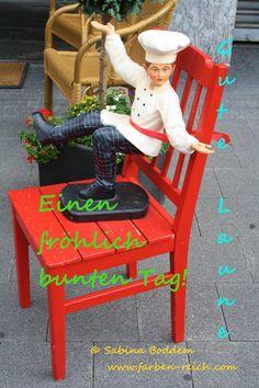 Einen fröhlich bunten Tag! http://www.farben-reich.com/