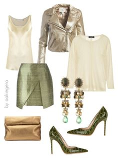 """""""Nice"""" by aakiegera on Polyvore featuring мода, Sans Souci, Jigsaw, Gloria Coelho, Romeo Gigli, Magaschoni, Alexis Bittar и Gianvito Rossi"""
