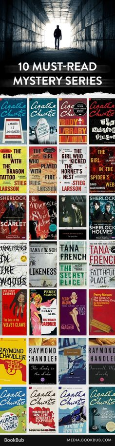 10 thrilling mystery series books every fan should read.