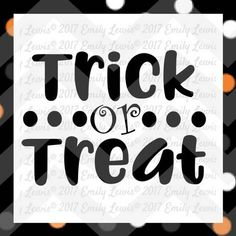 trick or treat svg  Halloween svg files  Halloween��