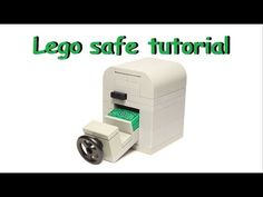 How to build a working Lego Safe (card mechanism) - YouTube