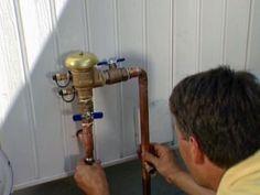 How to Install a Sprinkler System Sprinkler Valve, Lawn Irrigation, Sprinkler Irrigation, Water Sprinkler, Drip Irrigation System, Sprinkler System Design, In Ground Sprinkler System, Lawn Sprinkler System, Yard Drainage