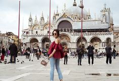 Off The Shoulder Ruffle Top in Venice, Italy | Song of Style