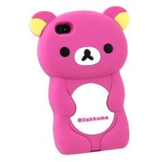 I just fell in love with this Rilakkuma teddy bear iphone case