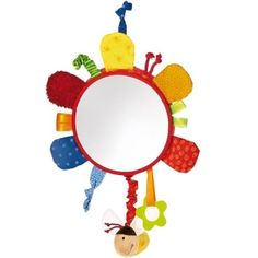 buy it www. Activity Toys, Activities, Flower Mirror, Baby Rattle, Baby Toys, Mini, Beautiful Flowers, Things To Sell, Aktiv