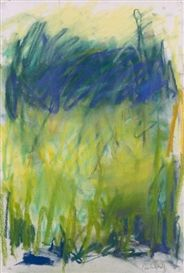 Artwork by Joan Mitchell, Composition, Made of pastel on paper