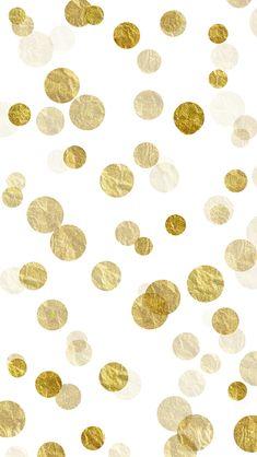 Trendy Wallpaper Iphone Dorado Gold Glitter Polka Dots Ideas rnrnSource by