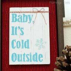 Make a DIY Winter Shadowbox Frame for your home. Bev from Flamingo Toes shares how to make this DIY Winter Shadowbox project.