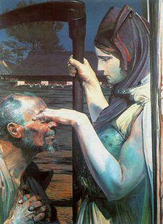 Death (Śmierć) by Jacek Malczewski. Oil on canvas. Illustrations, Illustration Art, Art Through The Ages, Poster S, Art Database, Vanitas, Art Graphique, Romanticism, Religious Art