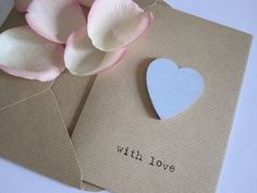 heart card, £2.50