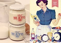 That Mayo Branding and Design South African Design, Canvas Designs, Creative Industries, Food Design, A Boutique, Typography, Packaging, Branding, Mayonnaise