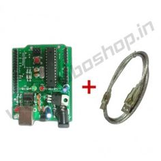 Roboduino Atmega8 + Cable Product Code: RS-1017 Availability: In Stock Price: Rs. 440.00  http://www.roboshop.in/development-boards/roboduino-atmega8-plus-Cable