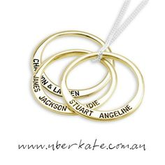 Warm up with Gold 〰 https://www.uberkate.com.au/products.php?category=Necklaces&subcategory=Ubercircles