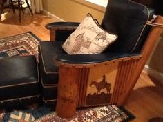 Molesworth chair available through rusticartistry.com. Order with the carving and color of your choice.